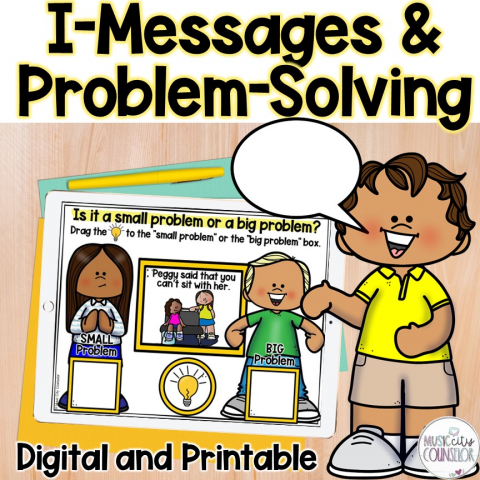 small problems, big problems, i-messages, i-statements, size of the problem, problem-solving skills