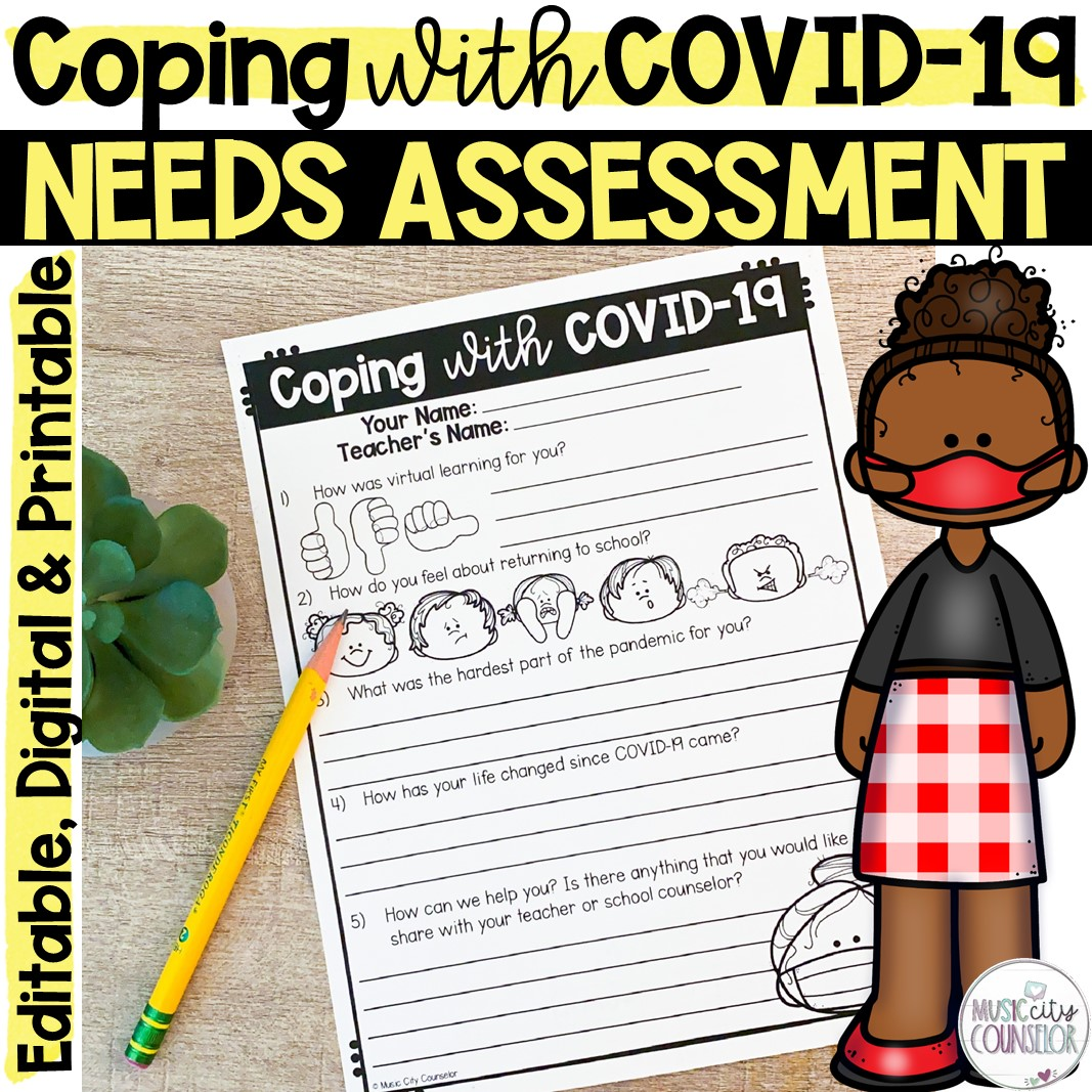 needs assessment school counseling covid-19