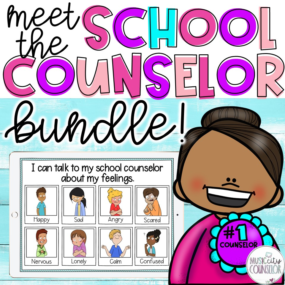 meet the school counselor lessons and activities